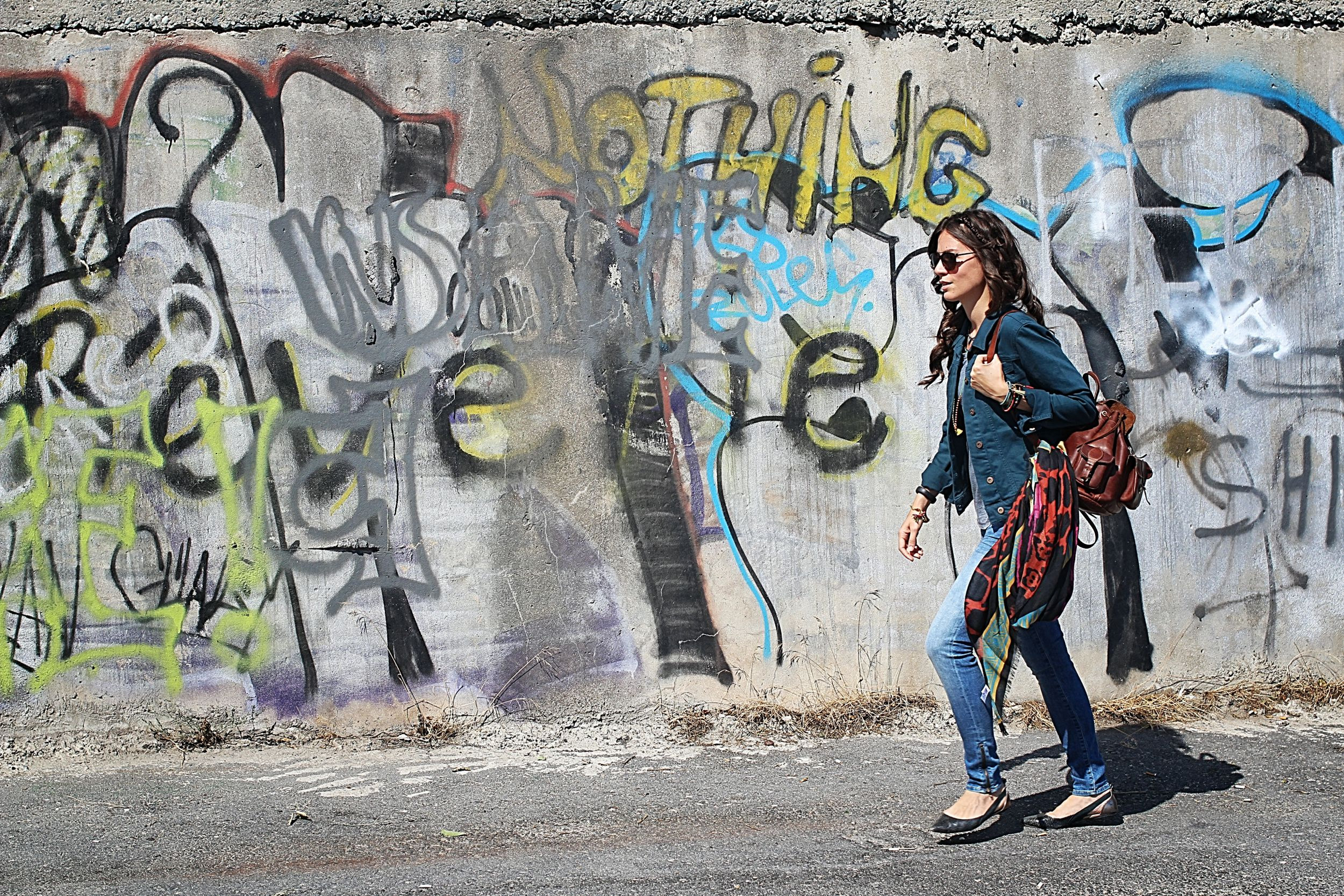 off ne giysem, Mavi, rock'n coke, festival modası, street style