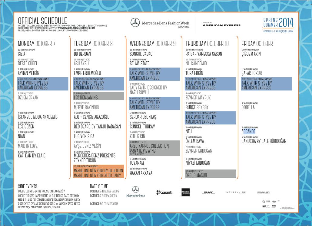 mbfwi schedule