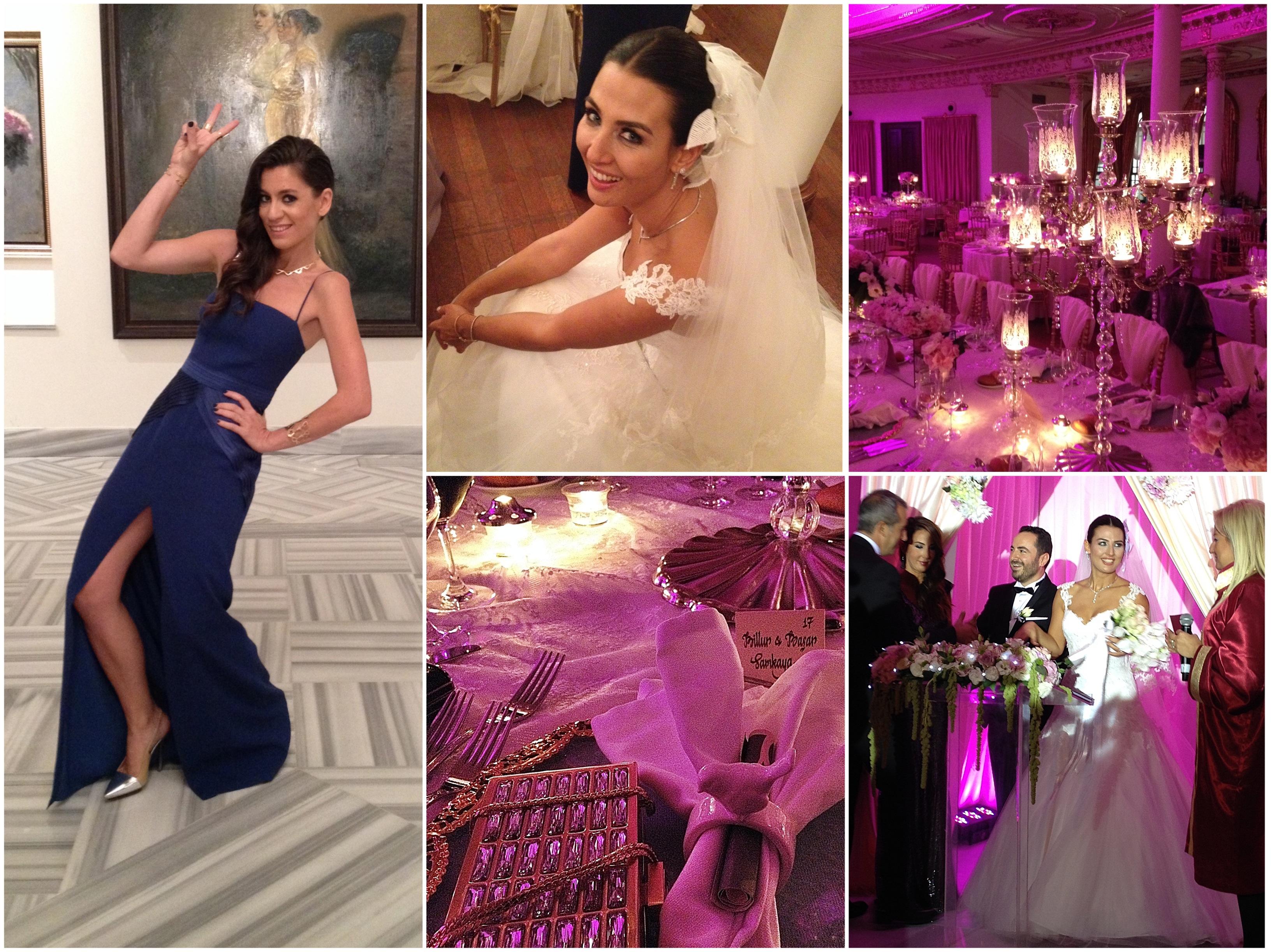 adile sultan, düğün, düğünde ne giydim, gamze saraçoğlu, ekria, michael kors, love moschino, makas nişantaşı, mac cosmetics