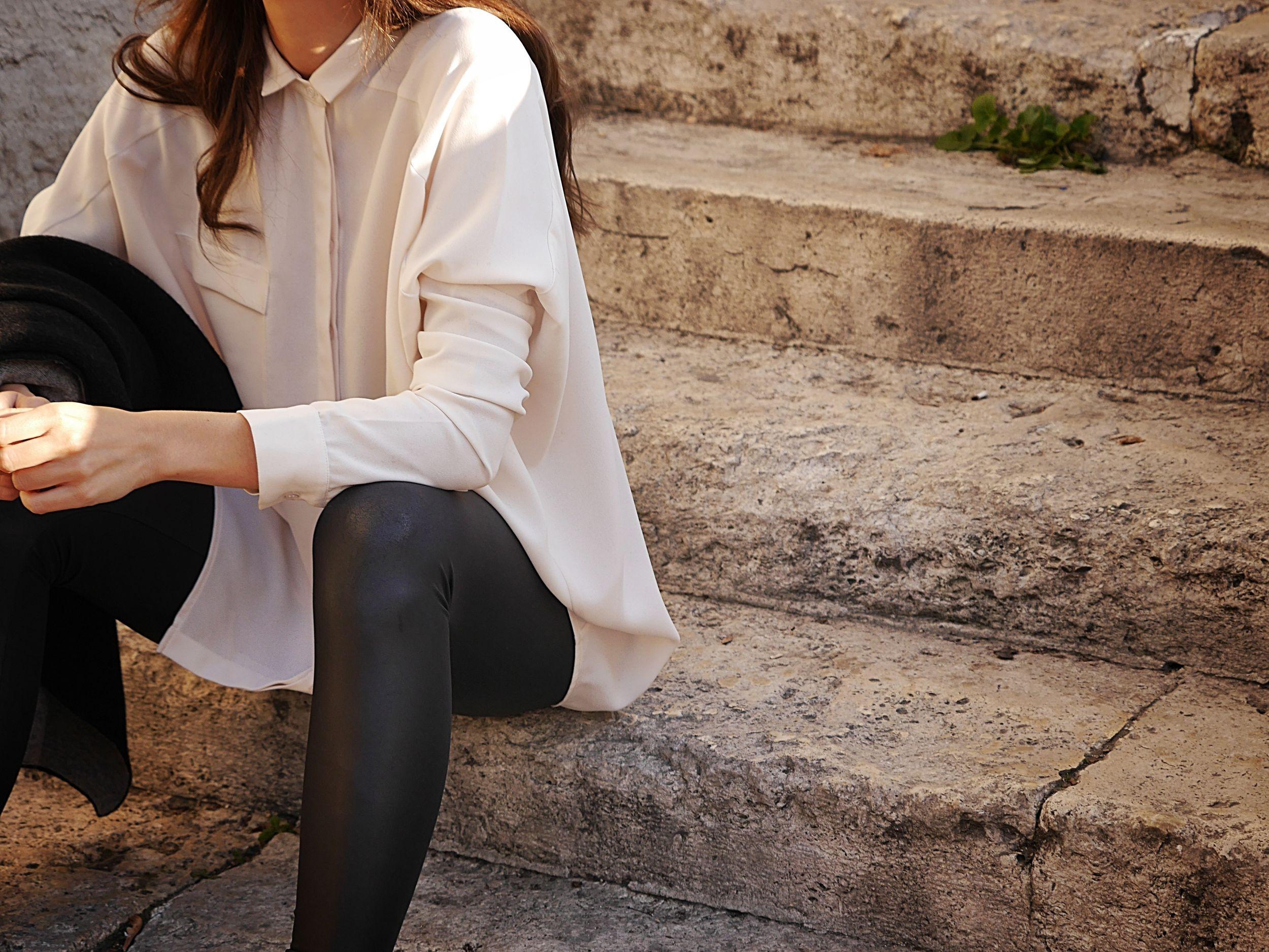 mija, american apparel, cos, alexander wang, outfit, street style, off ne giysem