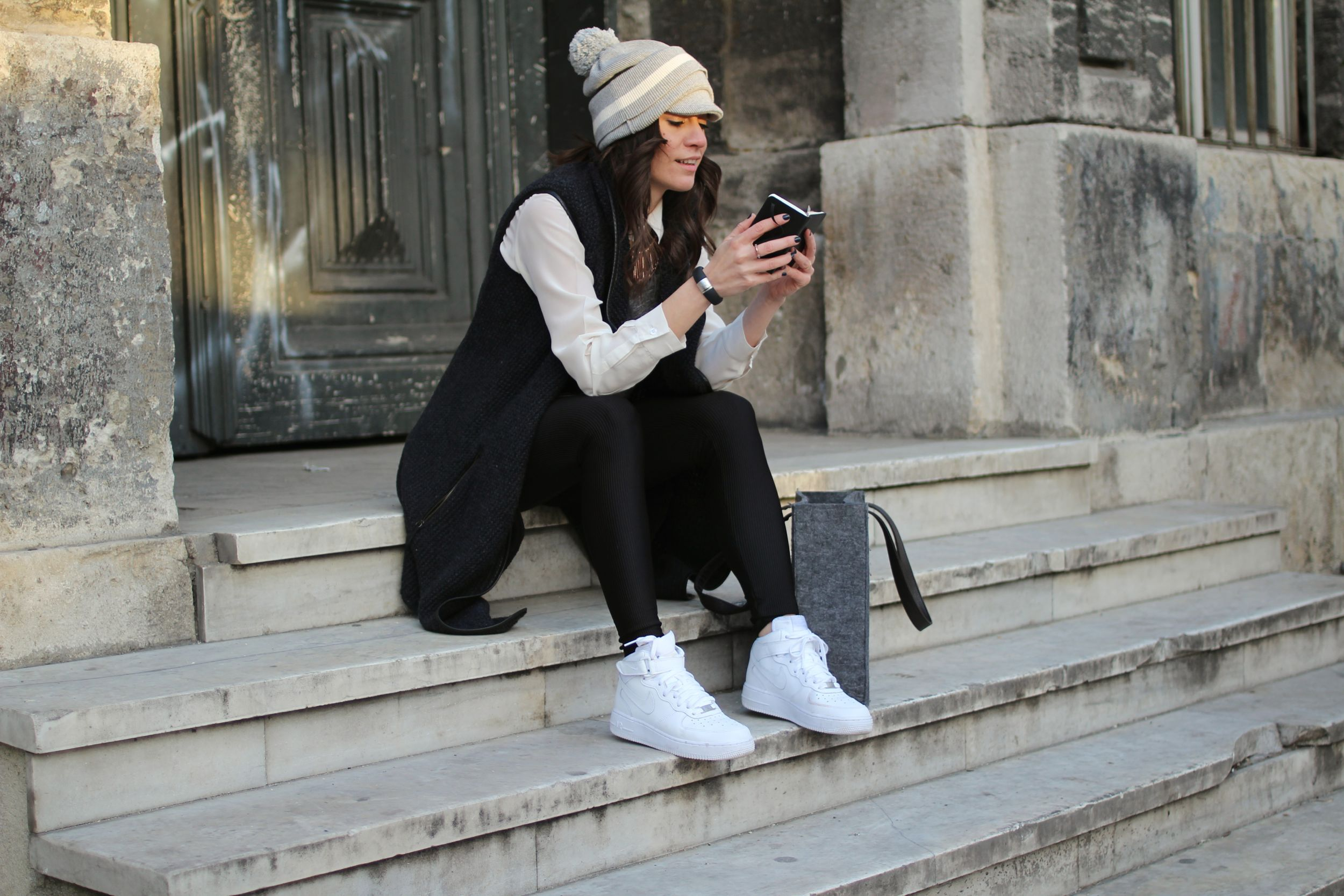 off ne giysem, billur saatci, blogger, turkish blogger, street style, nike, airforce, nike air force, vsp, vsp paris, beymen, marc jacobs, zara man, derishow, iro,