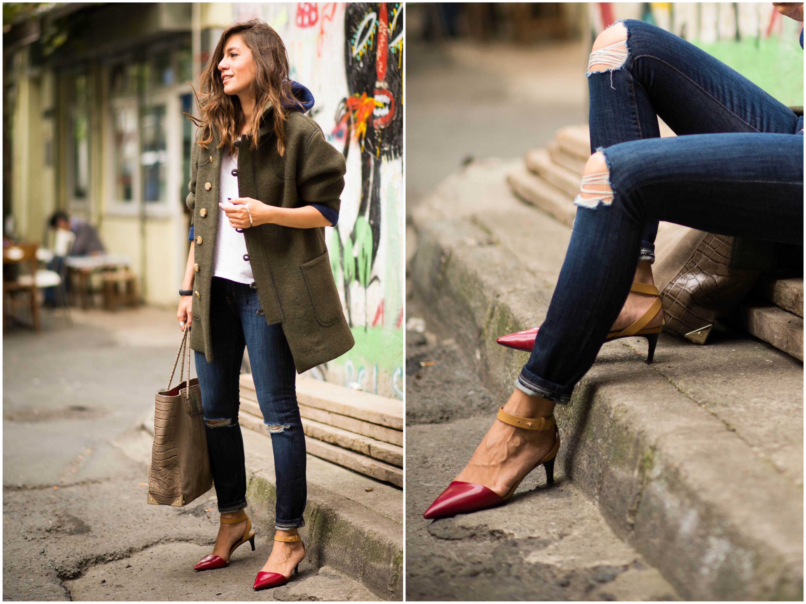 beymen, beymen  blender, current/elliott, jean, denim, outfit, street style, billur saatci, off ne giysem