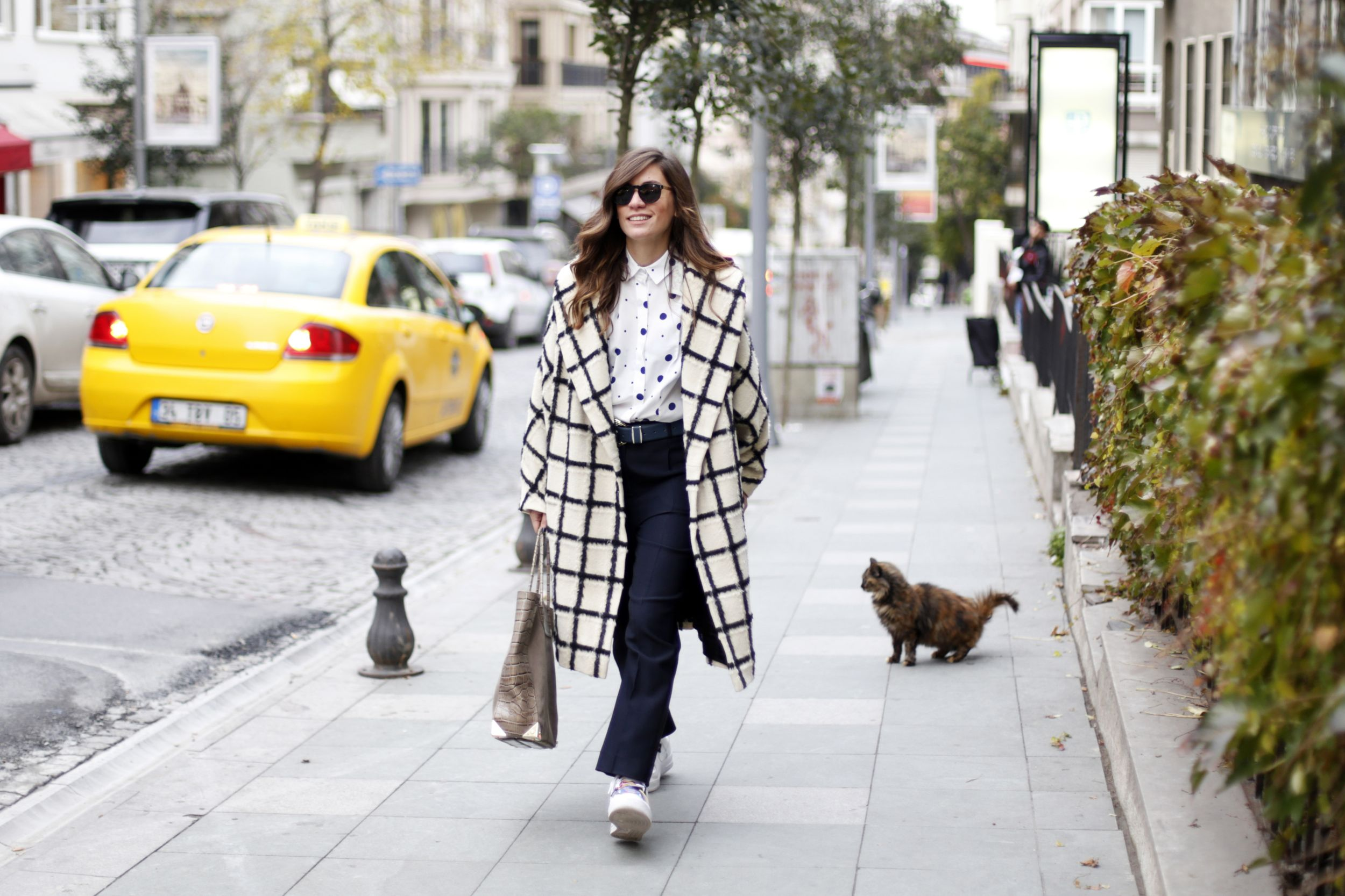 off ne giysem, street style, fey, video post, billur saatci, super sunglasses, nike, cos, alexander wang,