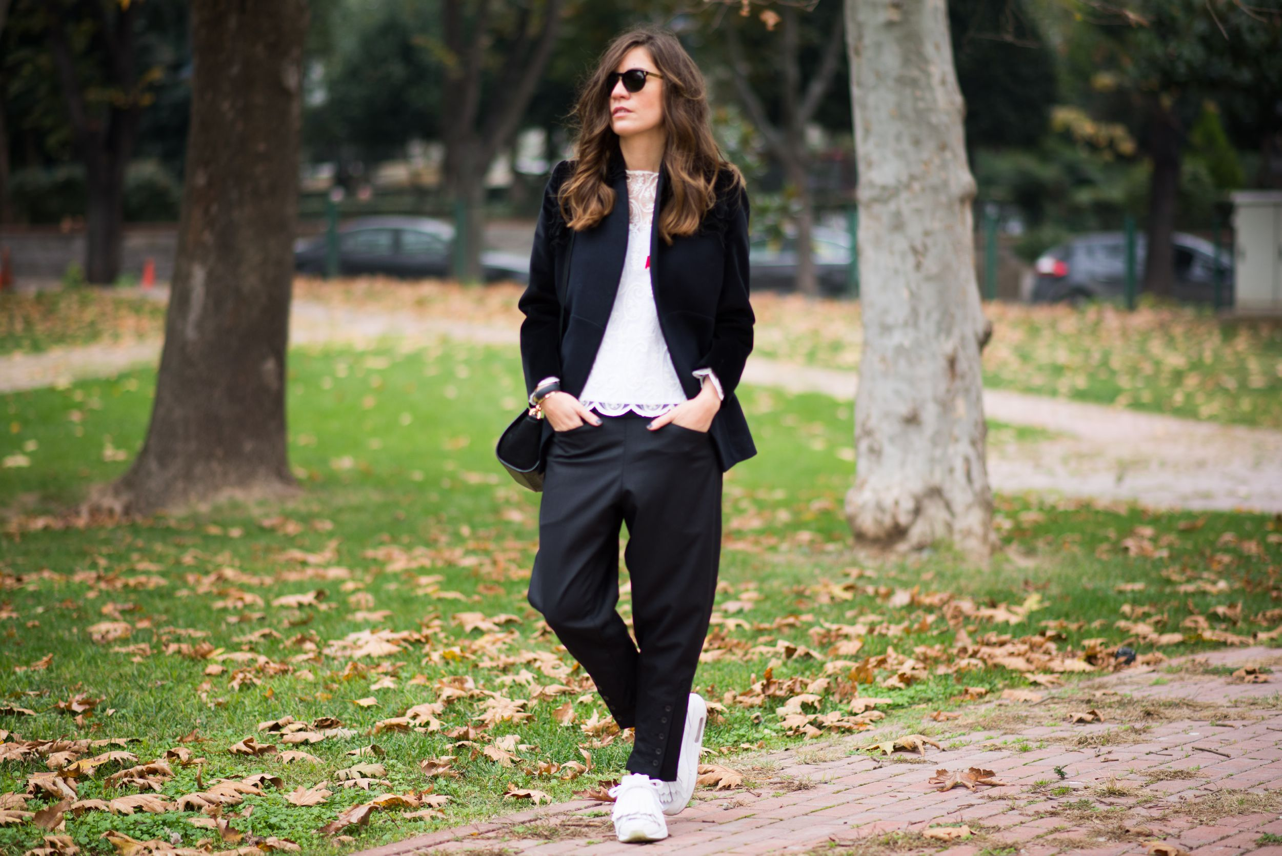 off ne giysem, billur saatci, aslı filinta, street style, turkish blogger, nike air max,