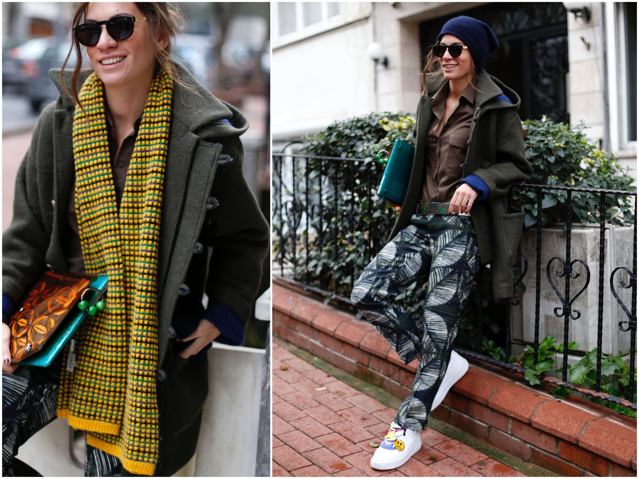 billur saatci, turkish blogger, off ne giysem, street style, zara, kenzo, currentt/elliott, maid in love, super sunglasses, third clutch, dsquared