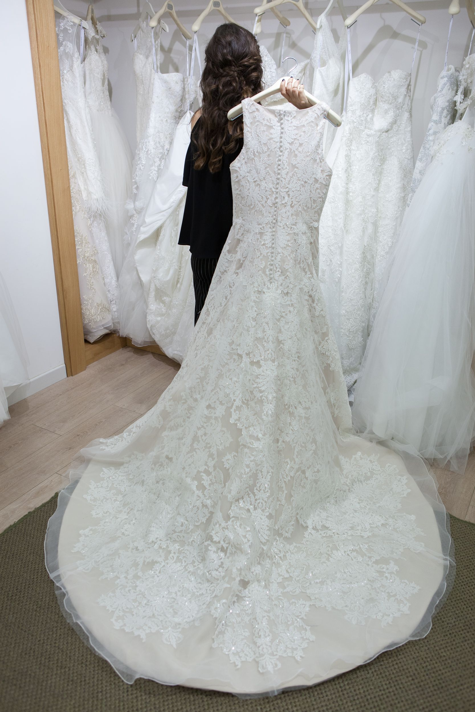 billur saatci, off ne giysem, wedding, wedding dress, oleg cassini, bride, bridal post
