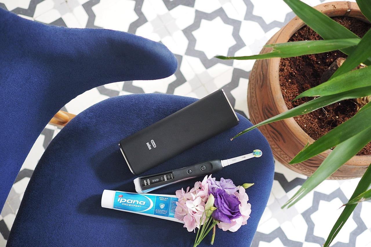 billur saatci, blogger, off ne giysem, braun, ipana, oral-b, diş bakımı,