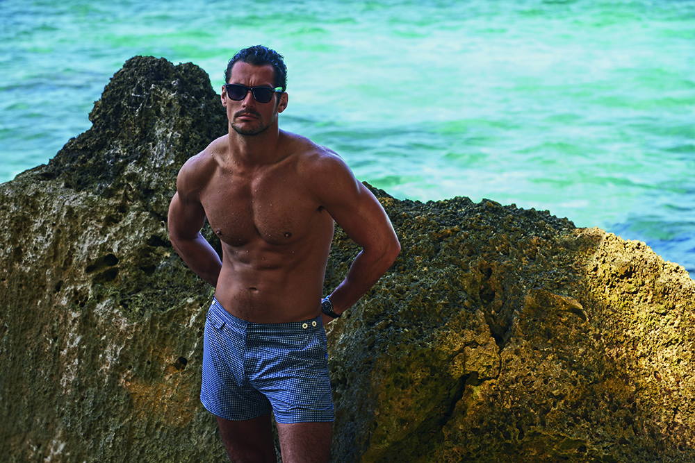 DAVID GANDY FOR AUTOGRAPH SWIM 1