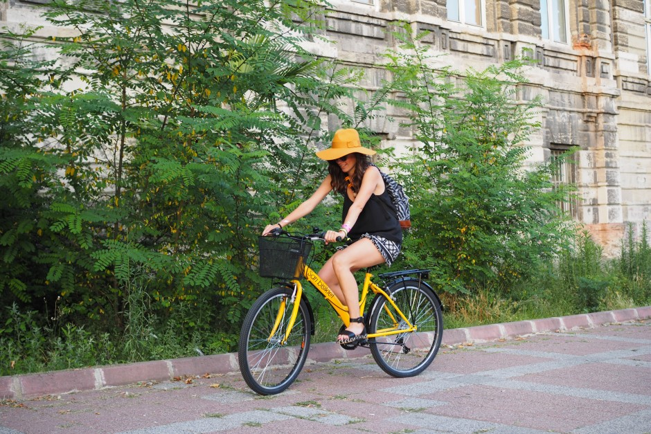 sarı bisiklet, bisikletimle ben, billur saatci, off ne giysem, style blogger, turkish style blogger