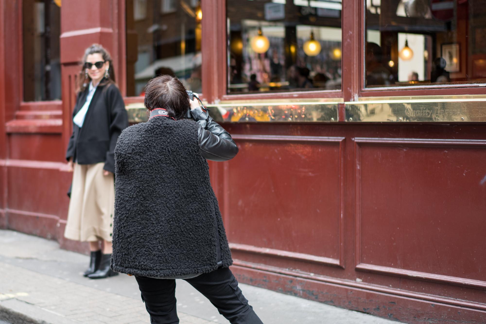 lfw, street style, london fashion week, sunglass hut, style, fashion, turkish style blogger, billur saatci, off ne giysem, mehtap elaidi, lug von siga, dolce gabbana, loeffler randall