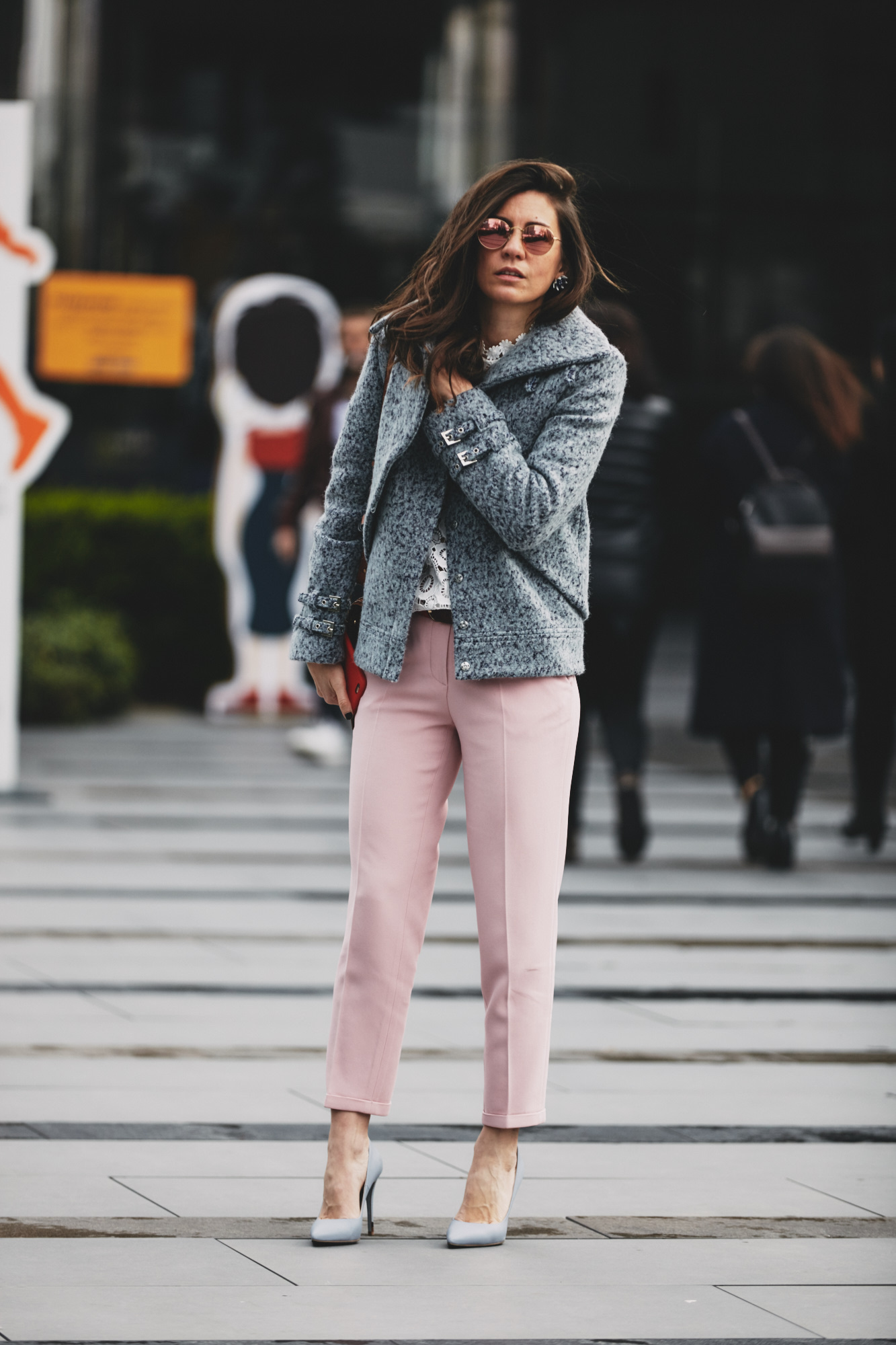 billur saatci, street style, mbfwi, off ne giysem, turkish style blogger, mercedes benz fashion week istanbul, fee dan, mybestfriends, fendi, rayban, selfportrait, chloe