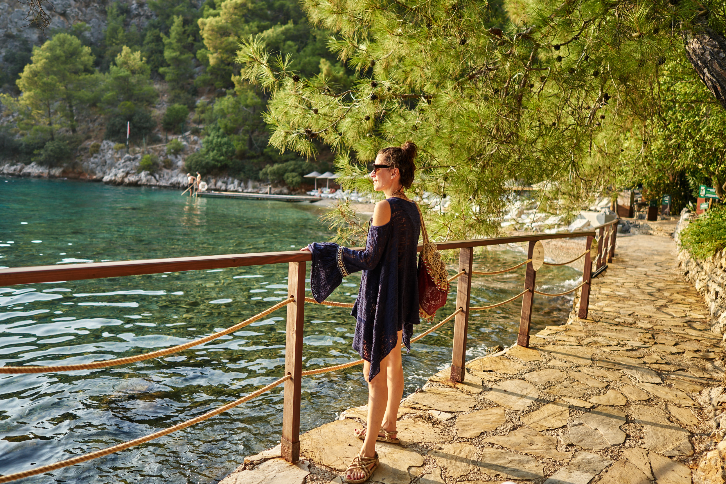 billur saatci, offnegiysem, street style, turkish style blogger, hillside beach club, sunset, heaven on earth, free people, marni