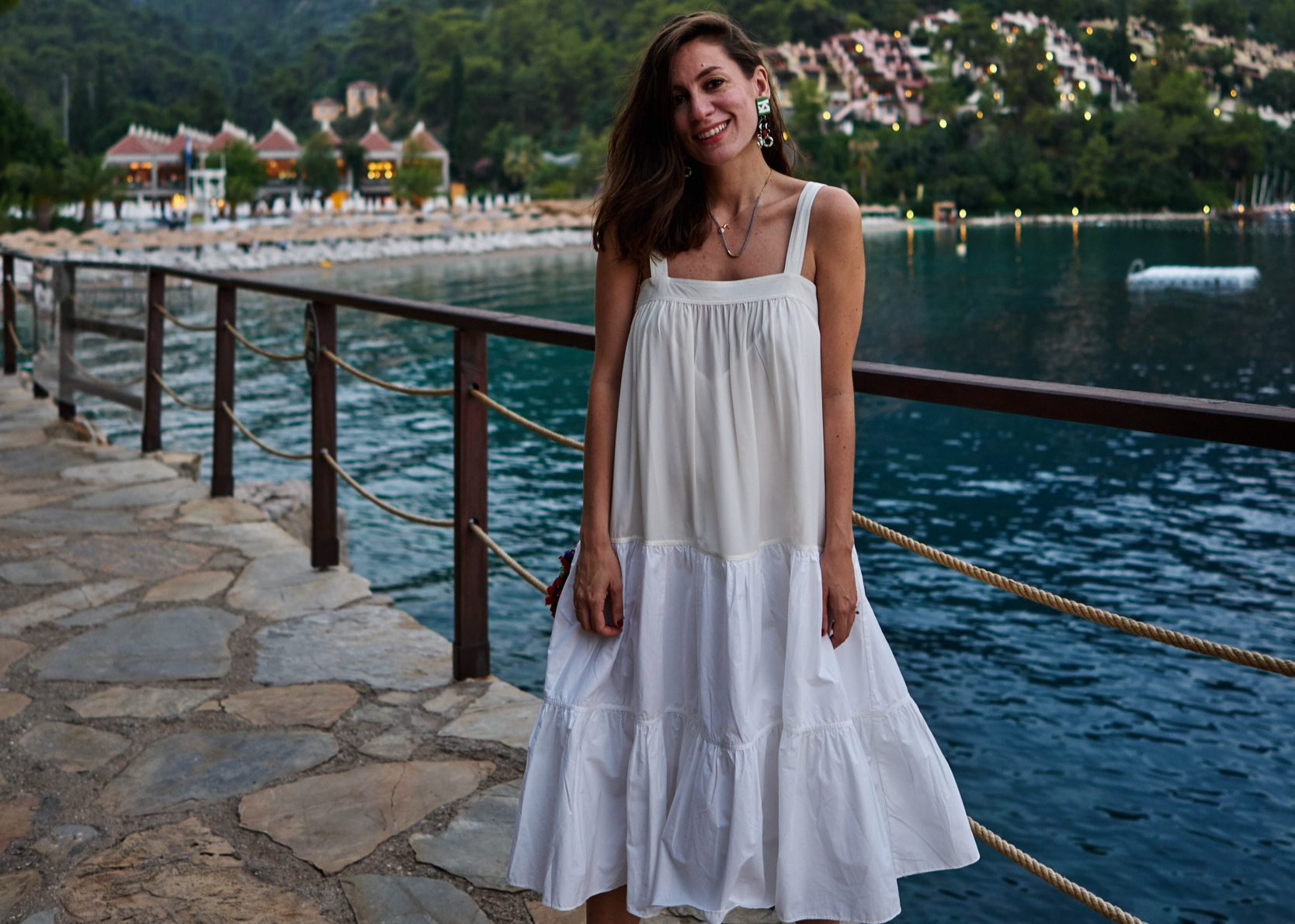 billur saatci, offnegiysem, street style, turkish style blogger, hillside beach club, sunset, heaven on earth, co,