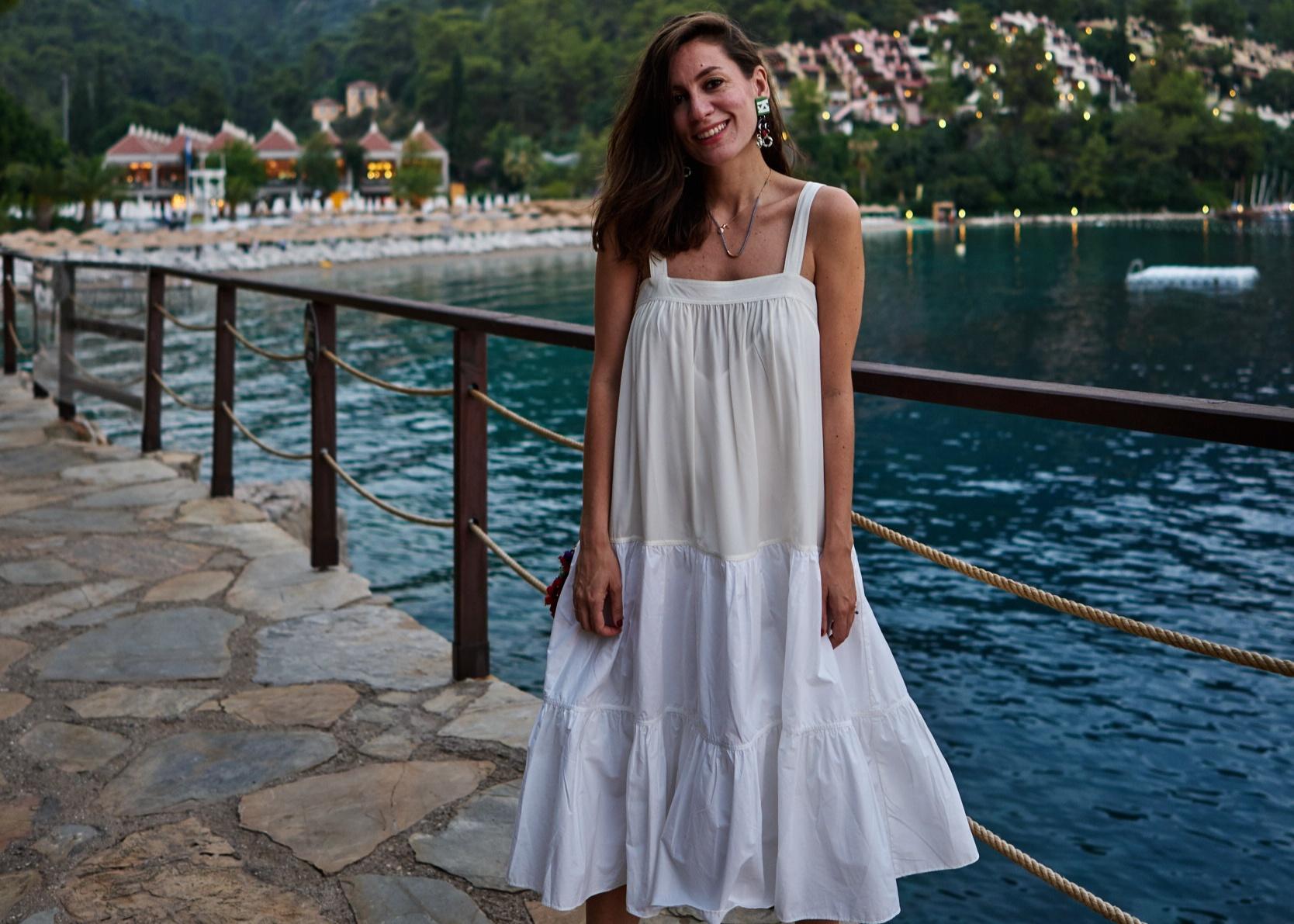 billur saatci, offnegiysem, street style, turkish style blogger, hillside beach club, sunset, heaven on earth, co,